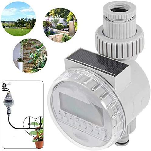 Schlauch Wasserhahn Timer, Solar Power Automatische Bewässerung Bewässerung Timer Programmierbare LCD-Anzeige Schlauch Timer