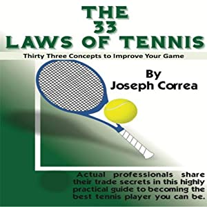 The 33 Laws of Tennis Audiobook