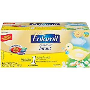 Enfamil 8 Pack Premium Nursette Formula - 6 oz.