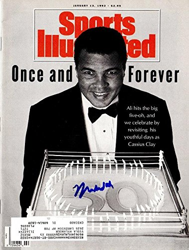 Muhammad Ali Signed Autographed Original 1992 Sports Illustrated Magazine Guaranteed to pass or JSA PSA/DNA Certified