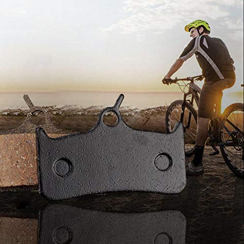 - Centishop P07BP Bicycle Disc Brake Pads for Shimano M755 / M755-DH / M756 (Resin, Semimetal)