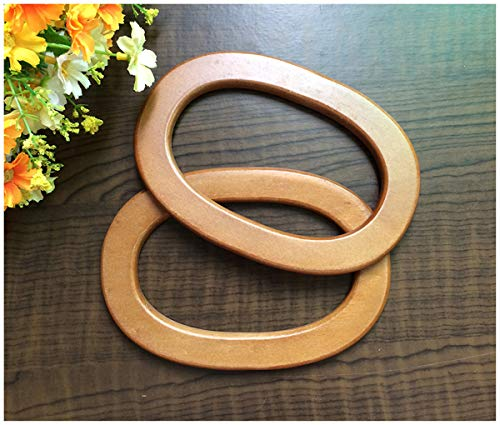 Ownstyle 2PCS Wooden Round Shaped Handles Replacement for sale  Delivered anywhere in USA
