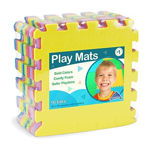 Foam Play Mats (16 Tiles + Borde...