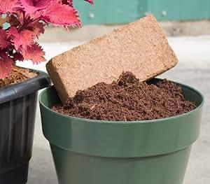 cocopeat Coco 5ladrillos de fibra de coco orgánico Potting Soil enmiendas
