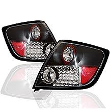 ZMAUTOPARTS Scion Tc JDM LED Altezza Tail Lights Black