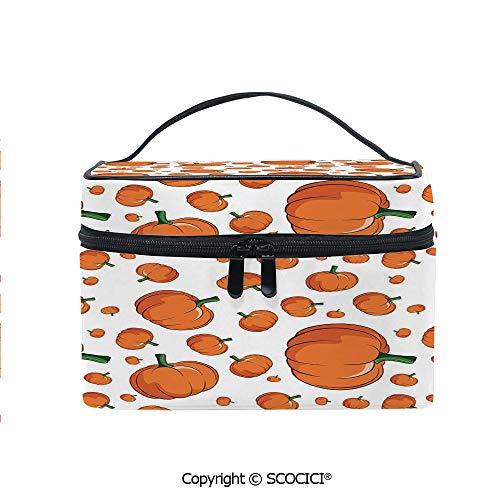 Printed Portable Travel Makeup Cosmetic Bag Halloween Inspired