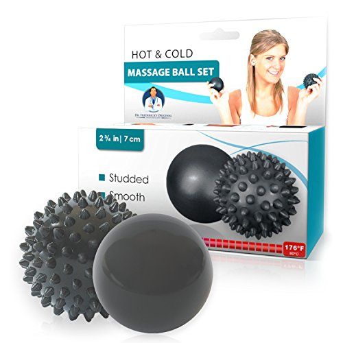 Dr. Fredericks Original Therapy Ball Set - Temperature Sensitive Massage Balls