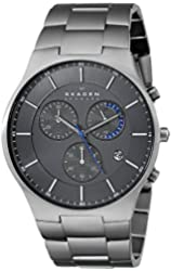 "Skagen Men's SKW6077 ""Balder"" Titanium Watch with Link Bracelet"