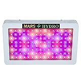 MarsHydro Mars300 Mars600 LED Grow Light For Indoor Plant Growth And Flowering Spectrum (Mars600 the 132W True Watt Panel)