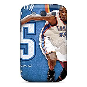 Samsung Galaxy S3 VaM13238xJla Unique Design Beautiful Oklahoma City Thunder Pictures Shock-Absorbing Hard Phone Cover -ChristopherWalsh