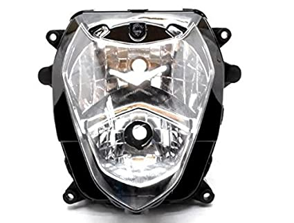 Amazon com: Clear Motorcycle Racing Sport Headlight Street