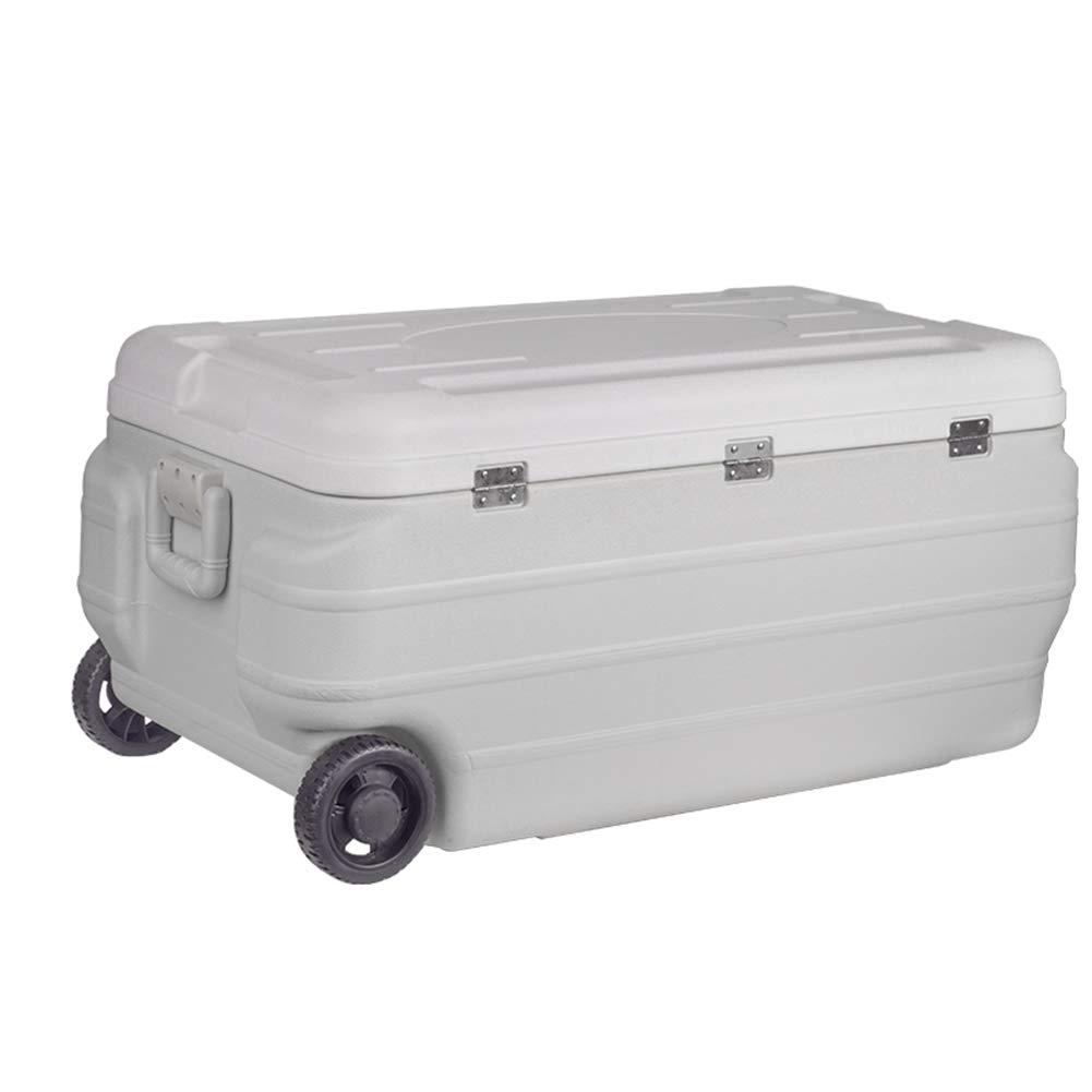 LIANGLIANG Kühl Box Hitzebewahrung Im Freien Portable Es Kann Sich Bewegen Geräumiger Griff Bewahren Sie Frische Große Kapazität Multifunktions 170L