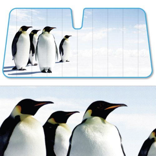 Fabric Tapered Shade - Bdkusa Fashion Auto Sun Shades Indian Summer Dual Bubble Fan Folded Premium Standard Size 58