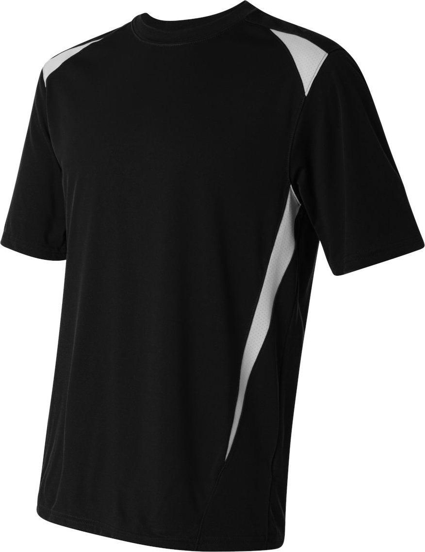 Augusta Sportswearメンズプレミアクルー B00CT4MIFK XX-Large ブラック/ホワイト ブラック/ホワイト XX-Large