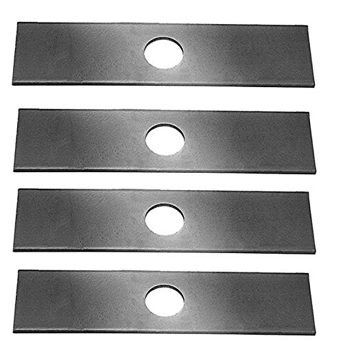(4 Pack, Heat Hardened (longer life) Edger Blades Replace Ryobi 613223, Echo 720-237-001, Stihl 4133-713-4101, Maruyama 216062. Green Machine 237001)