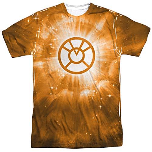 Energy -- Orange Lantern All-Over Front/Back Print Sports Fabric T-Shirt
