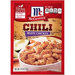 McCormick White Chicken Chili Seasoning Mix, 1.25 oz
