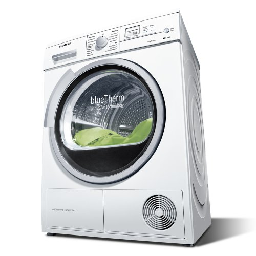 Siemens iQ700 WT46W562 Wärmepumpentrockner A+ 7 kg 1.6 kWh Weiß Knitterschutz DUO Tronic
