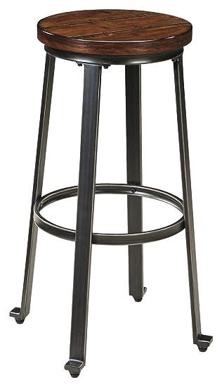 Ashley Furniture Signature Design   Challiman Bar Stool   Pub Height   Set  Of 2