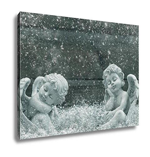 Ashley Canvas, Sleeping Guardian Angels Christmas Decoration, Home Decoration Office, Ready to Hang, 20x25, AG6442255 by Ashley Canvas