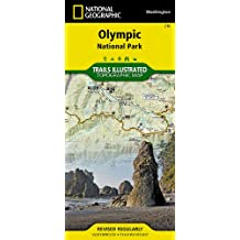 Olympic National Park (National Geographic Trails Illustrated Map)