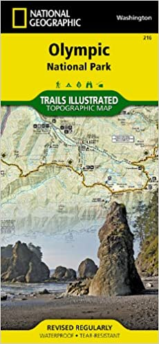 Olympic National Park (National Geographic Trails Illustrated Map ...
