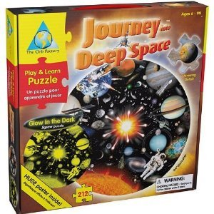 The Orb Factory Journey into Deep Space [Toy] Space Voyage Jigsaw