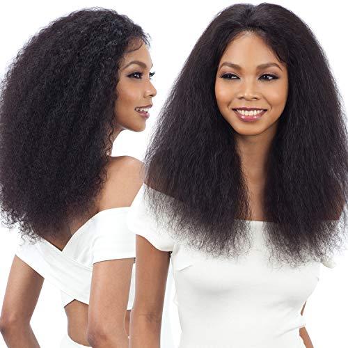 Model Model Nude Fresh Brazilian Human Hair Lace Front Wig Wet&Wavy Bohemian Curl (NATURAL)