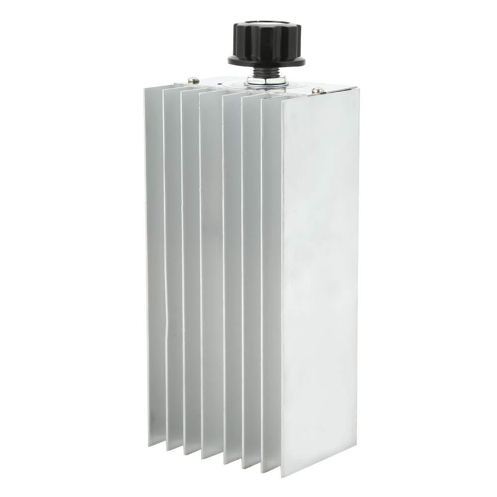 AC 220 V SCR Spannungsregler Dimmer Elektromotor Drehzahlregler Einstellbare Temperaturregler Dimmen Monitor 6000 Watt