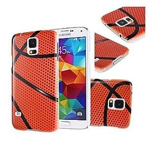HP- Modelo del baloncesto duro caso cubierta de plástico para Samsung Galaxy i9600 S5