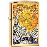 Zippo Custom Lighter: Fusion Sun and Moon - High Polish...