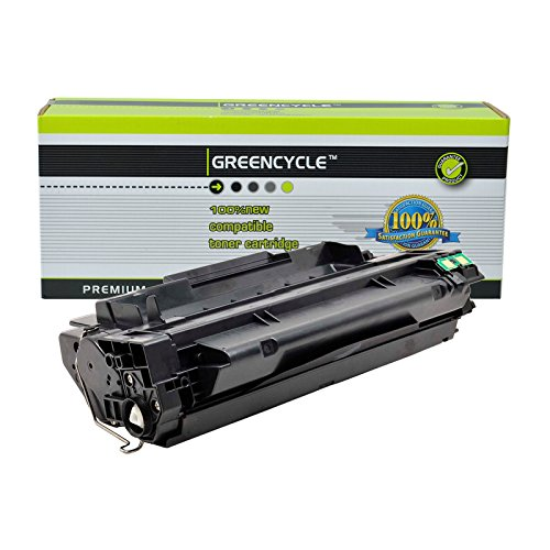 GREENCYCLE 1 Pack High Yield 51X Q7551X Toner Cartridge Replacement Compatible For HP LaserJet P3005 P3005x P3005d M3027 M3035 MFP Series Printer - M3035xs Mfp Printer