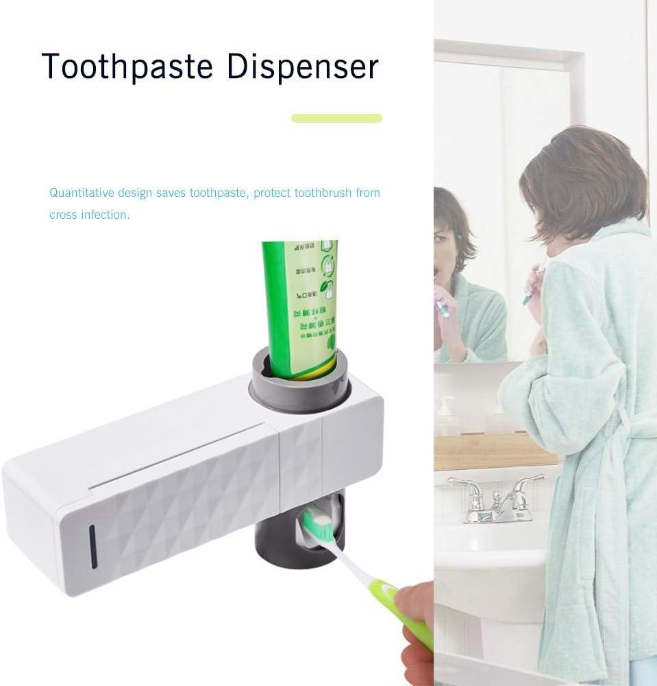 sterilizzatore spazzolino Antibatterico Raggi ultravioletti Disinfezione Staffa Automatica per spazzolino Carica USB TiooDre Portaspazzolino