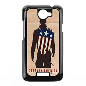 Scholarly Cottage Order Case Captain America For HTC One X LL9WF792155