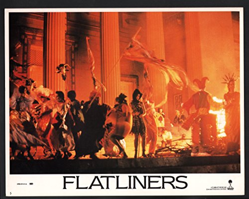 Tv People Costumes (Flatliners Lobby Card-a crowd of people in costume)