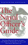 Book cover for The Naval Officer's Guide Eleventh Edition