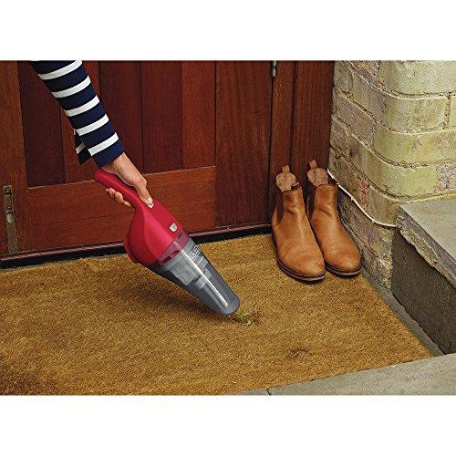 BLACK+DECKER Handheld Vacuum, Cordless, Chili Red (HNV220BCZ26FF)