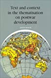 Text and Context in the Thematisation on Postwar Development, Louis Baeck, 905867018X