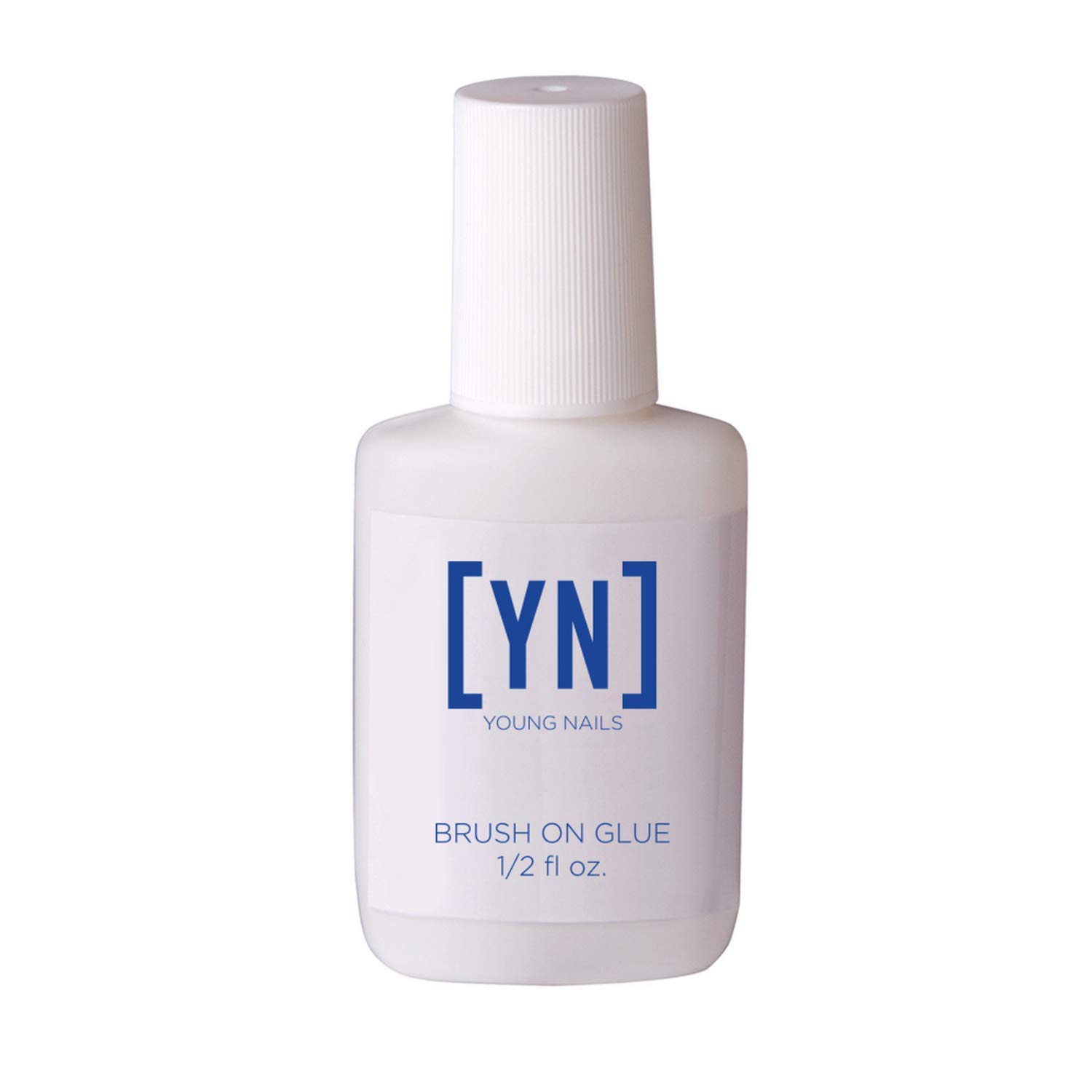YOUNG NAILS Brush-on-Glue, 0.50 fl. oz. by Young Nails