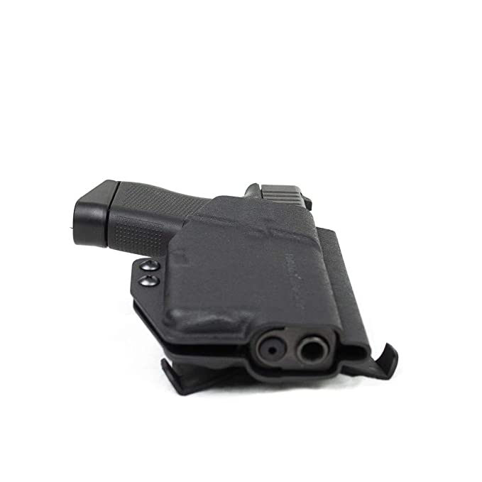 Amazon.com : Priority 1 Holsters Glock 43 with Streamlight TLR-6 Right Handed Paddle Outside The Waistband Holster : Sports & Outdoors