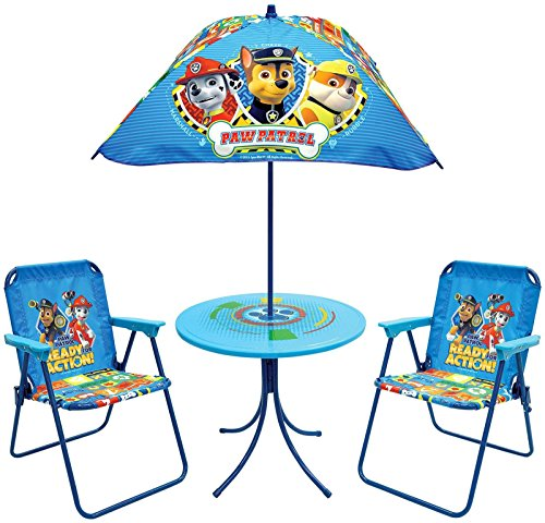 Paw Patrol Kids Patio Sets Outdoor Furniture