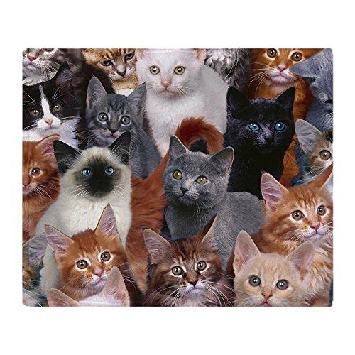 CafePress CAT S Soft Fleece Throw Blanket, 50