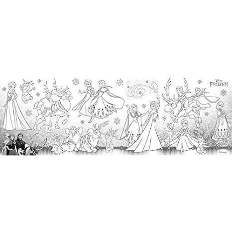 Gran diversión de pintura | Rodillo de pintura autoadhesivo Anna and Elsa de Disney the Frozen