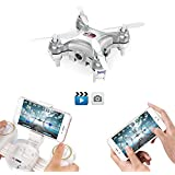 GoolRC Wifi FPV Mini Drone With Camera Live Video, 3D Flips, High Low Speed, High Hold Mode, One Key