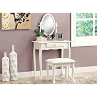 Monarch 2-Piece Vanity Set, Antique White