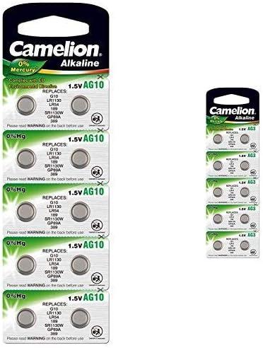 Camelion Knopfzelle AG1 2er Blister 1,5V  Alkaline