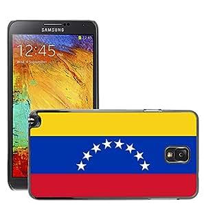 GoGoMobile Slim Protector Hard Shell Cover Case // V00001189 venezuela National Country Flag // Samsung Galaxy Note 3 III N9000 N9002 N9005