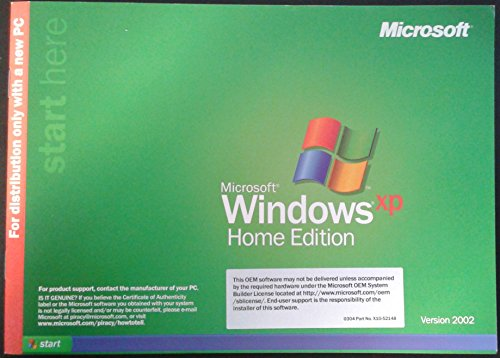 Microsoft Windows XP Home OEM product image