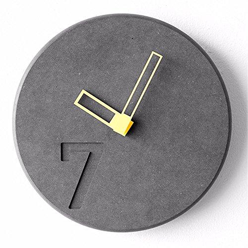 FortuneVin Wall Clock Non-ticking Number Quartz Wall Clock...