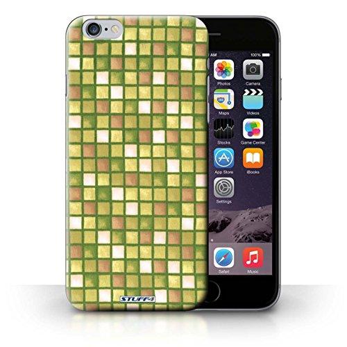 Hülle Case für iPhone 6+/Plus 5.5 / Gold Entwurf / Bad Fliesen Collection